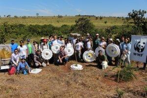 Nucleário teste no Cerrado