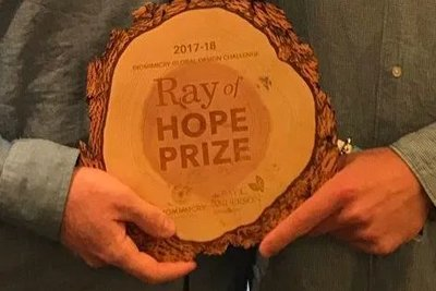 Ray of hope prize